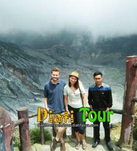 1 day tangkuban perahu tour package