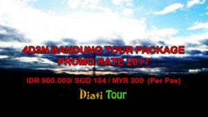 4d3n bandung tour package